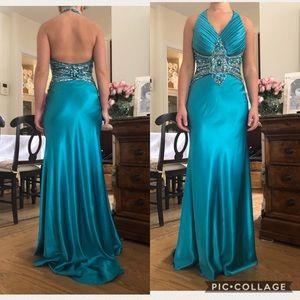 Dresses & Skirts - Bicici Prom Evening Gown Blue Dress